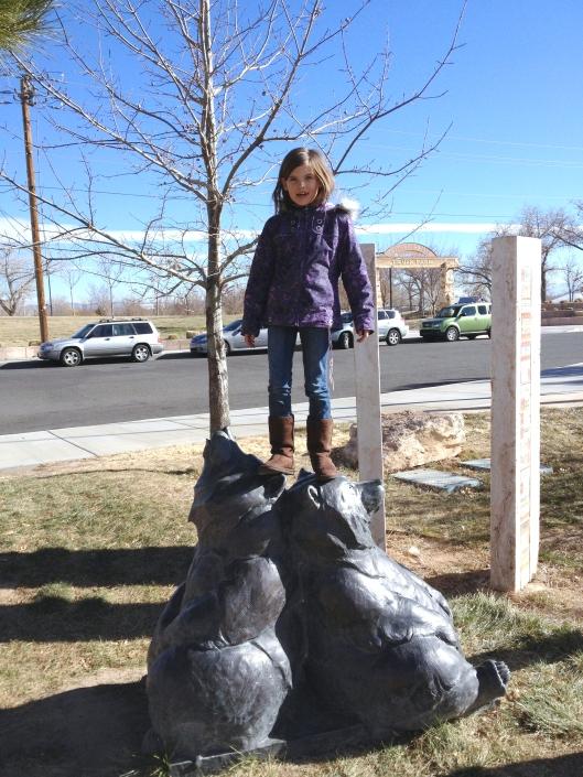 Lucy at Albuquerque Museum
