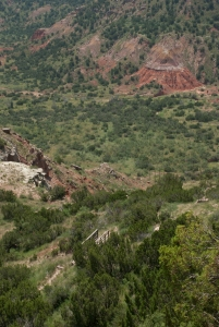 Palo Duro Canyon - Such a surprise in the flat dessert stretches of the Texas Panhandle!