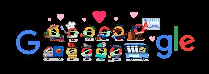 google doodle Covid